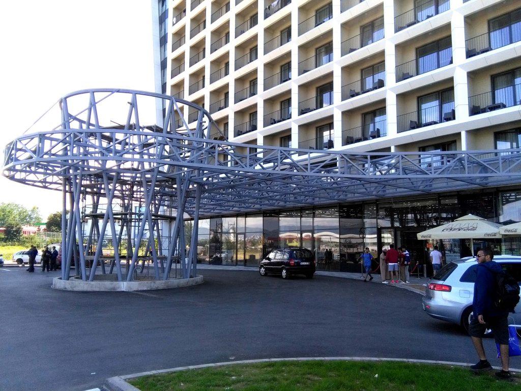 Ulaz u hotel Hills Sarajevo